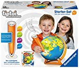 Ravensburger Exklusives Tiptoi Starter-Set 00068: Stift und Junior-Globus-Lernsystem für Kinder ab 4 Jahren