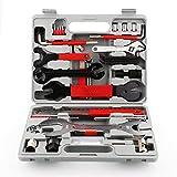 DZAY Fahrradwerkzeugset Koffer Fahrrad Werkzeugkoffer,Fahrrad Handwerkzeug Set Reparaturset Handwerkzeug Set mit Tragekoffer und Multitool Bike Tool für Fahrrad Reifen Fahrradreparatur