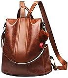 KUPR Rucksack Damen Rucksackhandtaschen Mode Rucksack Schulter Tasche Wasserdichte Anti-Diebstahl Schultertasche Damen Rucksack mit großer Kapazität