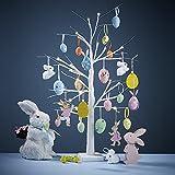 Midore Ostern Baum Lichter 18 in Birke Baum Tischlampe 24 LED Lichter Kaltweiß, Bonsai Baum für Home Party Hochzeit Osterferien Dek