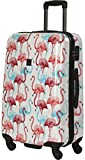 Saxoline Flamingo Koffer, 67 cm, 53 L, Mehrfarbig