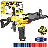 Elektrische Spielzeug Pistole mit 12 Clip Magazin, Automatische MP5 Nerf Blaster groß mit 100 Munition, 3 Modi Schuss USB Aufladbare Kinder Gewehr, Outdoor Spiel Geschenk Junge Jungendliche Erwachsene
