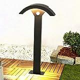 TDYWO LED Außenstandleuchte Wegeleuchten außen, Außenleuchte Pollerleuchte Gartenbeleuchtung Aluminium 12W LED, IP65 wasserdicht, 600