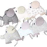 Lingge Bettumrandung Nest Kopfschutz Nestchen Babybett Baby Nestchen Bettumrandung 27 x 204 cm für Babybett Bettausstattung current