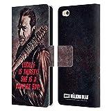 Head Case Designs Offizielle AMC The Walking Dead Lucille Vampir Fledermaus Negan Leder Brieftaschen Handyhülle Hülle Huelle kompatibel mit Xiaomi Mi 5c