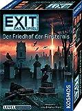 Kosmos 695163 EXIT - Das Spiel - Der Friedhof der Finsternis, Level: Fortgeschrittene, für 1 bis 4 Spieler ab 12 Jahre, einmaliges Event-Spiel, spannendes Gesellschaftsspiel