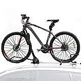 JINGBO Dach-Fahrradträger für 1 Fahrräder, Nutzlast 70KG, Zusammenklappbar für Auto SUV LKW