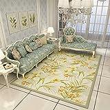 ZAZN Moderner Minimalistischer Teppich Nordamerikanische Landmatten Wohnzimmer Couchtisch Teppich Schlafzimmer Nachttisch Teppich Fuß