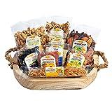 Trockenfrucht Mix Nuss Set, 9-teilig, Aprikosen, Honigmelone, Mischobst, Erdnüsse, Mandeln, 2200g