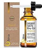 Das authentische Wüsten-Dattelöl Bio-Trockenöl Wertvolles Reparatur- und Anti-Aging-Öl 100% rein und zertifiziert (50 ML)