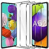 LK Schutzfolie Kompatibel mit Samsung Galaxy A51 Panzerglas, 9H Härte Galaxy A51 Panzerglas, HD Klar A51 Schutzfolie, Kratzen Blasenfrei 2.5D Rand Einfacher Montage