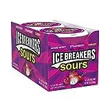 Ice Breakers Sours Mixed Berry - Pfefferminz Bonbons, 8 Stück, 340 g