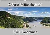 Oberes Mittelrheintal - XXL Panoramen (Wandkalender 2021 DIN A2 quer)