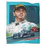 Lewis Hamilton Formula One Legendary Driver Winter-Bettdecke, Ganzjahresdecke, Premium-Bettdecke, 150 x 200 cm