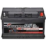 BlackMax Autobatterie 12V 95Ah 800A Starterbatterie MAX95 +30 Edition ersetzt 85Ah 88Ah 92Ah