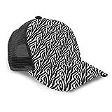 Yesliy Unisex Baseballkappe, Mode Sonnenblende Cap Sport Outdoor Sonnenhut Größe verstellbar Baseball Cap Hot Pink Zebra