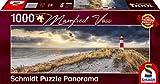 Schmidt Spiele SCH59622 Manfred Voss, Leuchtturm, Sylt, 1000 Teile Panorama-Puzzle, Bunt