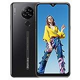 Blackview A80s Mobiltelefone, ohne SIM-Lock, Octa-Core 4 GB + 64 GB, Android 10 Smartphone, 6,2 Zoll Display, 13 MP Quad-Kamera, 4G Dual SIM, 4200 mAh, Gesichts-/Fingerabdruck-Entsperrung – Schwarz