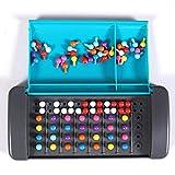 adgbd Brettspiel Für Kinder Brettspiel Reisespielzeug Mini Brettspiel Travelling Toy Treasures Code Breaker-Spiel Reisespielzeug Für Familienkinder Pädagogische Intellektuelle Entwicklung