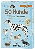 moses. 9769 Expedition Natur 50 Hunde   Bestimmungskarten im Set   Mit spannenden Quizfragen
