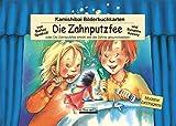 Kamishibai-Bilderbuchkarten 'Die Zahnputzfee': oder Die Zahnputzfee erklärt, wie die Zähne gesund bleiben, 13 Bilderbuchkarten für handelsübliche Kamishibai-Tischtheater im DIN A3 Format, ab 3 J.