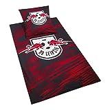 RB Leipzig Blizzard Bed Sheets, Rot Unisex One Size Fleecedecke, RasenBallsport Leipzig Sponsored by Red Bull Original Bekleidung & M