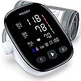 Blutdruckmessgerät Oberarm, HYLOGY Digital Vollautomatisch Blutdruckmessgerät und Pulsmessung, Großes Led Display und Große Manschette, 2x90 Dual User Modus