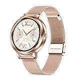 XYZK MK20 Damen Smart Watch 2021 Mode Damen Vollbild Touch Smart Watch Pedometer Herzfrequenz Schlaf Tracking Watch,B