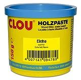 Clou Holzpaste zum Reparieren und Auskitten von Holzschäden eiche, 150 g: gebrauchsfertige Paste geeignet für den gesamten Innenb