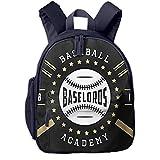 Kinderrucksack Kleinkind Jungen Mädchen Kindergartentasche ABC Baseball Zeichen Abzeichen Backpack Schultasche Rucksack