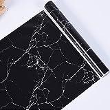 Yinuneronsty 3D-Marmor-Imitat, wasserdicht, PVC, selbstklebend, Wandpanel, für Küche, Wohnzimmer, Dekoration zu Hause, 03., Voir la photo ou la description du p