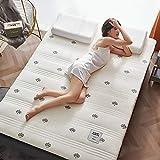 Matratze, Memory Foam Dicke Latexmatratze, Einzel-Doppelmatratze, Tatami-Matratze, Klappbettwäsche,9cm,90x200cm