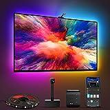 Govee Immersion WiFi LED TV Hintergrundbeleuchtung mit Kamera, für 55-65 Zoll TV und PC, RGBIC, App-Steuerung, kompatibel mit Alexa und Google Assistant, für TV und PC