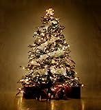 ANKOUJA Led Lichterkette Warmweiß 100er Innen für Verbindlich & Memroyfunktion für Weihnachten Zimmer Bett Hochzeit Party Schlafzimmer Tannenbaum 31V-8 Funktion Partylicherkette…