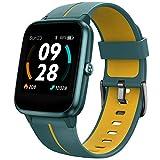 UMIDIGI Smartwatch Uwatch3 GPS, Fitnessuhr mit integriertem GPS, 1.3 Zoll Touch-Farbdisplay, 5 ATM wasserdichte Smart Watch Sportuhr Stoppuhr mit Schlafmonitor für Damen und Herren, Zwiebelgrün