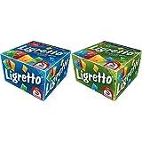 Schmidt Spiele 01101 - Ligretto blau, Kartenspiel & Spiele 01201 - Ligretto grün, Kartensp