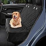 Petacc Hundedecke für Auto Rückbank, Hundedecke Kofferraum Wasserdicht und rutschfest für Komplett Abgedeckt Haustier Autositz U