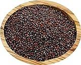 Senfsaat Senfkörner schwarz ganz 250g schwarzer Senf