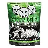 Speedballs Bio Tournament Softairkugeln BBS 0.30g 4.000er Beutel Weiss