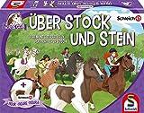 Schmidt Spiele 40586 Horse Club Stock und Stein-Schleich, Kinderspiel, b