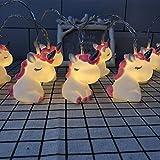 yqs Lichterkette LED Cartoon Lampe Silikon Tier Lichterkette Batterie für Weihnachten Baby Kinderzimmer Dekoration Innen