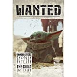 ABYstyle - The Mandalorian - Poster - Baby Yoda Wanted (91,5 x 61 cm)