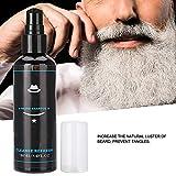 Tiefenreinigung Verhindern Hautausschläge Bartshampoo, Bartpflegeshampoo, natürliches Kokosöl für Vatermänner