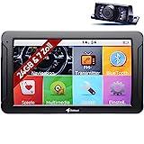 Elebest City 70K+ Navigationsgerät PKW, LKW, Wohmobil - Großes 7 Zoll (17,8 cm) Touchscreen HD Display - 24 GB, Fahrspurassistent, Bluetooth - Radarwarner, 3D Navi, Funk-Rückfahrkamera