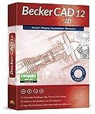 BeckerCAD 12 2D - CAD-Software und 2D-Zeichenprogramm für Architektur, Maschinenbau, Modellbau und Elektrotechnik - kompatibel mit AutoCAD - Programm für Windows 10, 8, 7