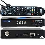 OCTAGON SX89 WL HD H.265 S2+IP HEVC Set-Top Box - DVB-S2 Smart Sat TV Receiver, Kartenleser, Mediaplayer, Mediathek, DLNA, YouTube, Web-Radio, iOS & Android App, USB PVR, 150Mbit WiFi + EasyMouse HDMI