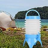 FOLOSAFENAR Tragbarer Getränkespender mit zusammenklappbarem Eimer, zur Aufbewahrung, zum Trinken von Wasser, zum Zelten zum Grillen