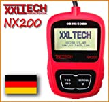 XXL Tech KWP2100 NX200 Can Bus Diagnose Scanner Deutsch OBD 2