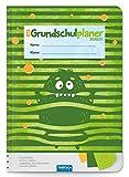 Trötsch Schulplaner Grundschulplaner Monster 2020/2021: Schülerkalender, Timer, Terminkalender, Hausaufgabenheft