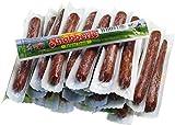 KRAMERs Knabberle (25 Stück) | Salami Sticks | zum Wandern, Camping und unterwegs | mit Buchenholz geräuchert und würzig fein | 25g pro Stück